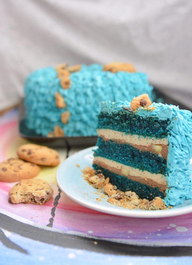 ciasto blue velvet