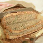 chleb z ziarnami bez zakwasu
