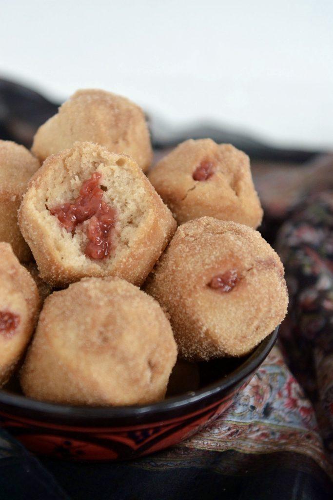 Muffinkowe pączki a'la doughnuts