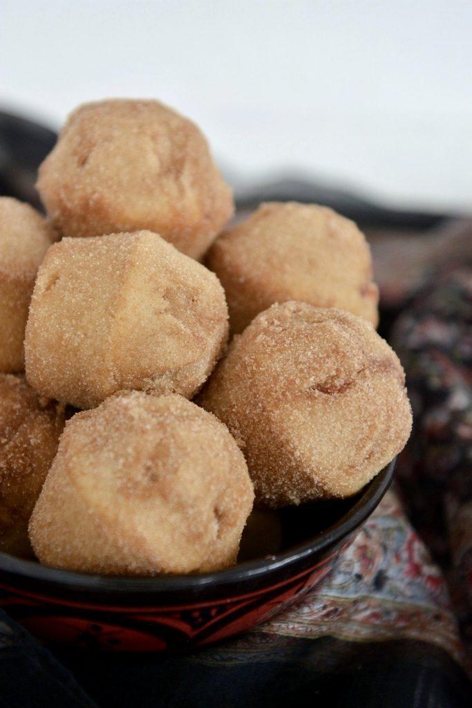 Pączkowe muffinki donaty