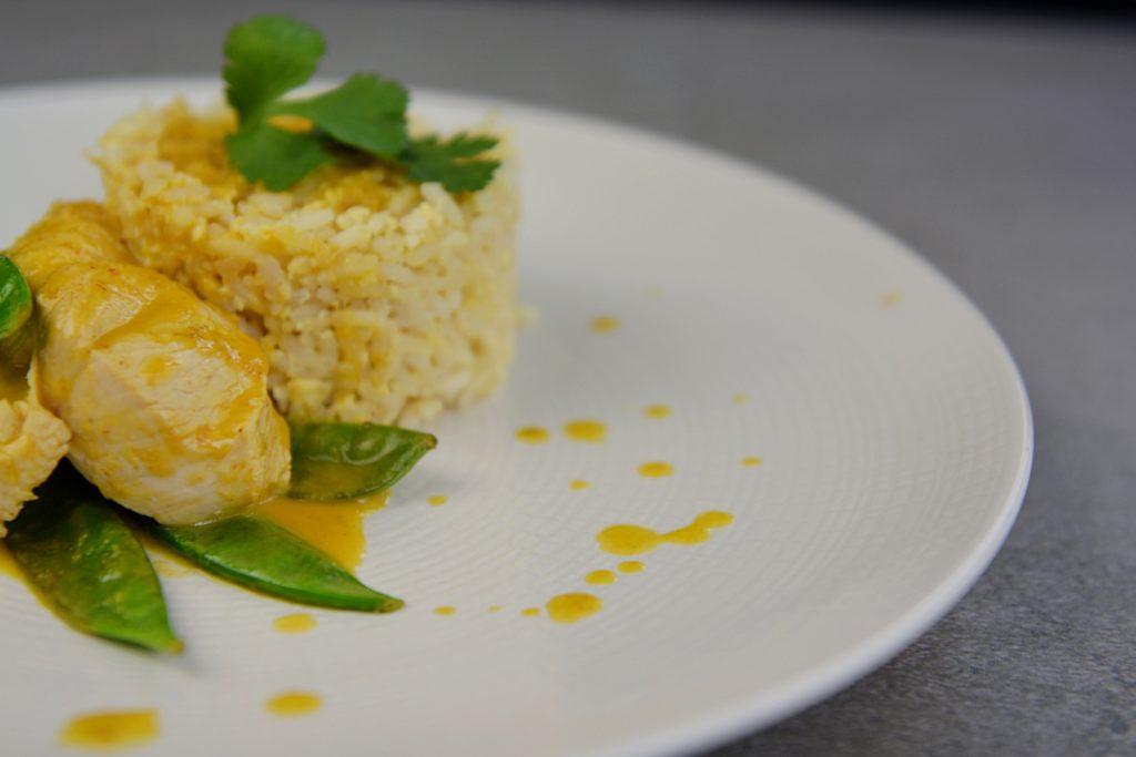 indyk z mango w sosie curry
