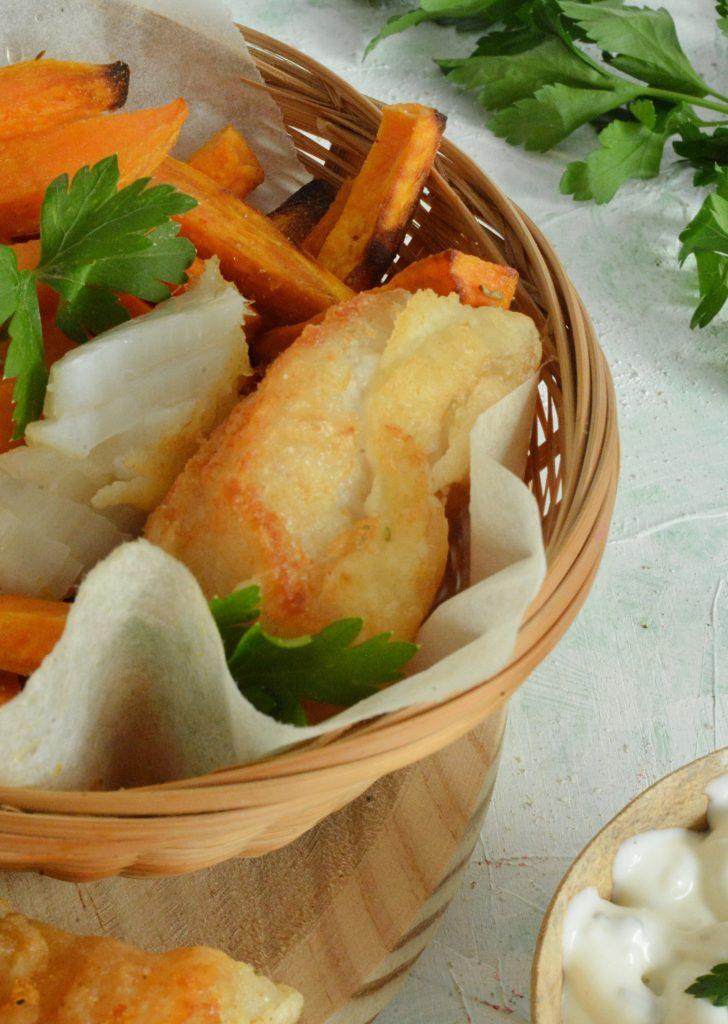 Szybsze, zdrowsze fish & chips
