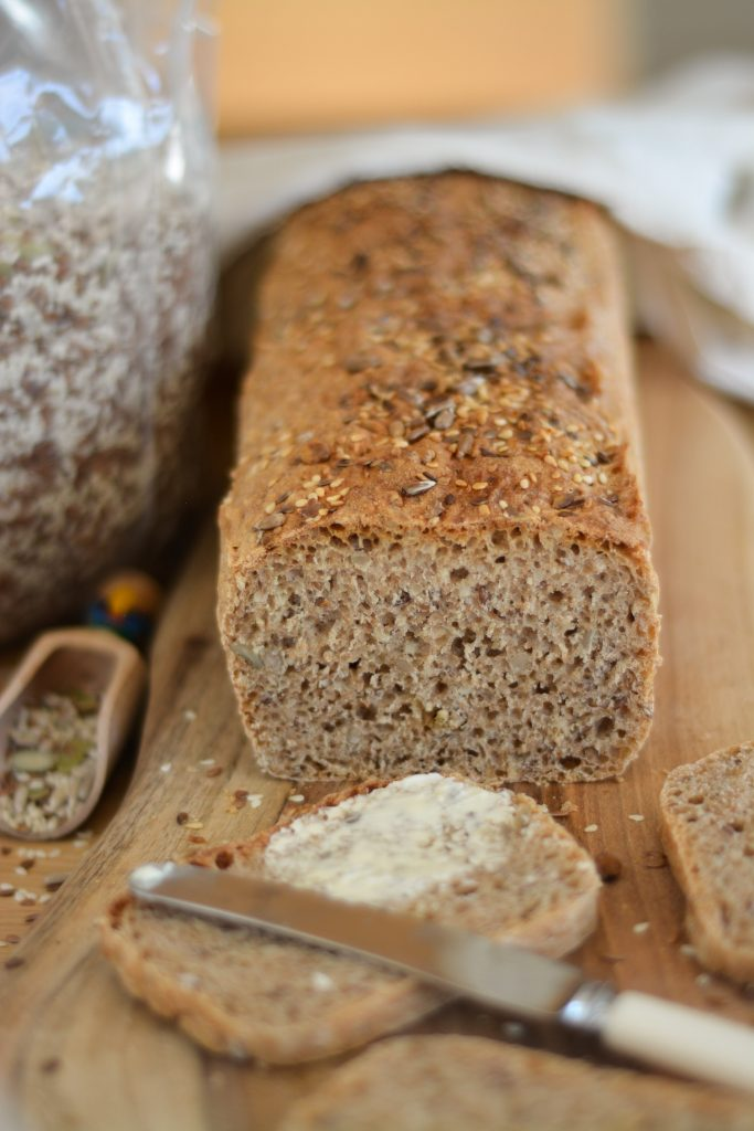 szybki chleb orkiszowy pszenny