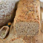 Pszenno - orkiszowy chleb na drożdżach