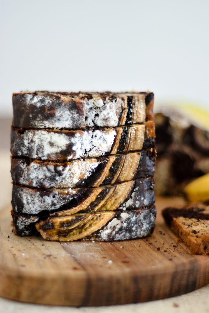 proste szybkie ciasto bananowe z kakao