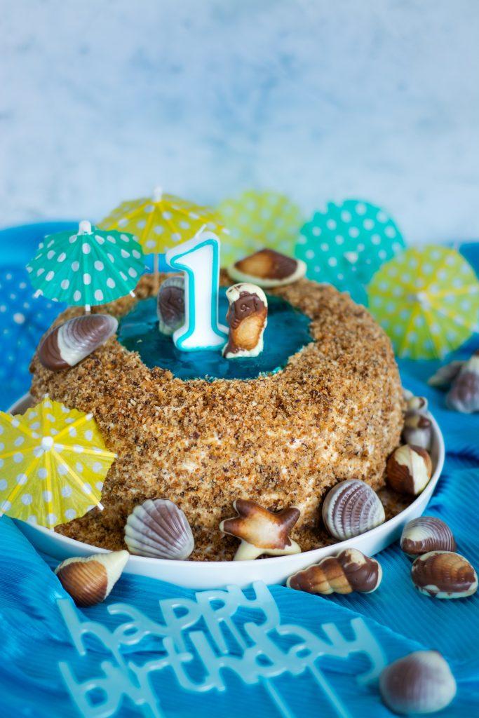 tort wakacyjny plaża roczek
