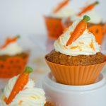 Odchudzone muffinki marchewkowo – miodowe