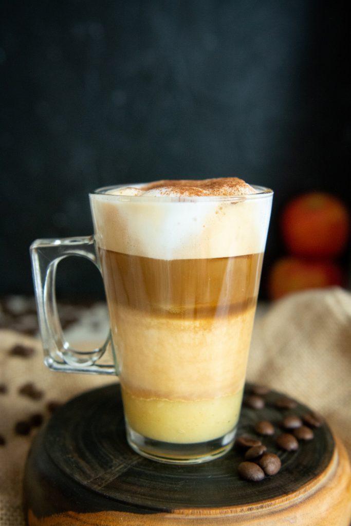 Kawa szarlotkowa