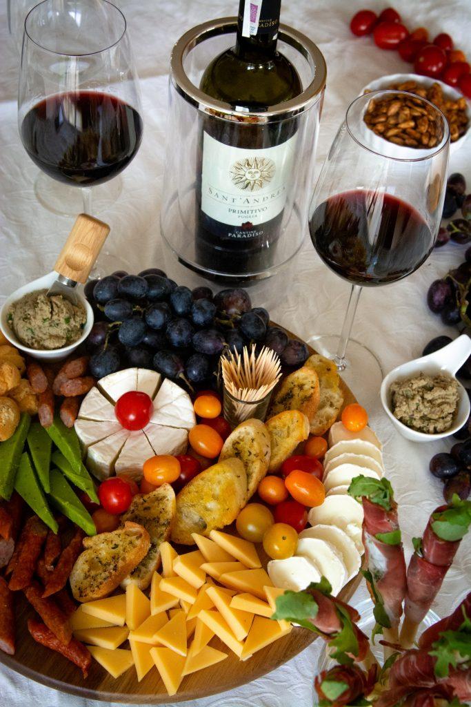 deska serów do wina