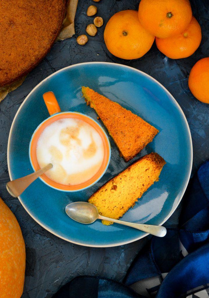 Ciasto dyniowo - mandarynkowe