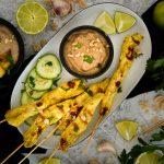 Kurczak satay – przepis prosty szybki