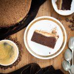 Ciasto czekoladowe z Amaretto i kawową żelką