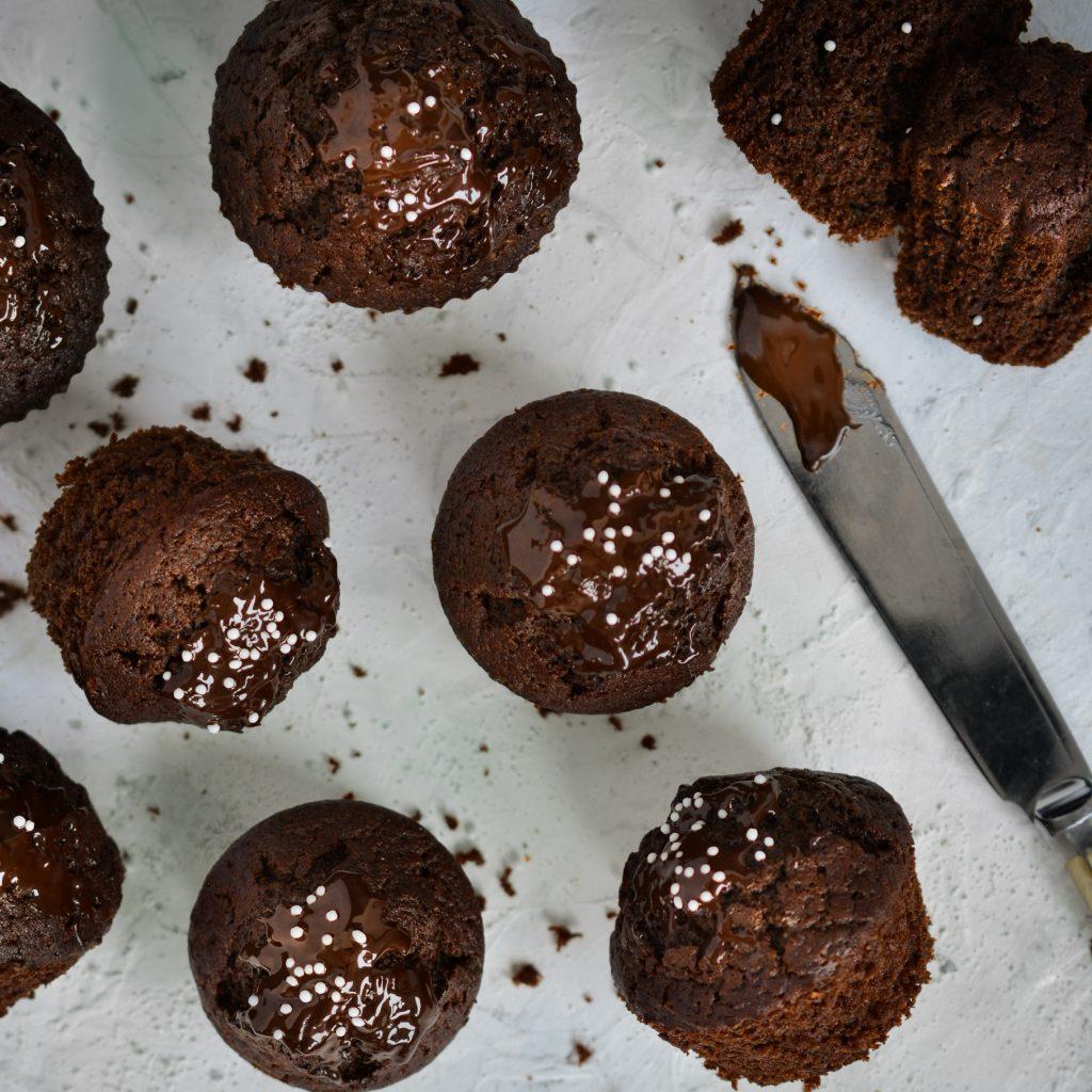 Czekoladowe muffinki na jogucie