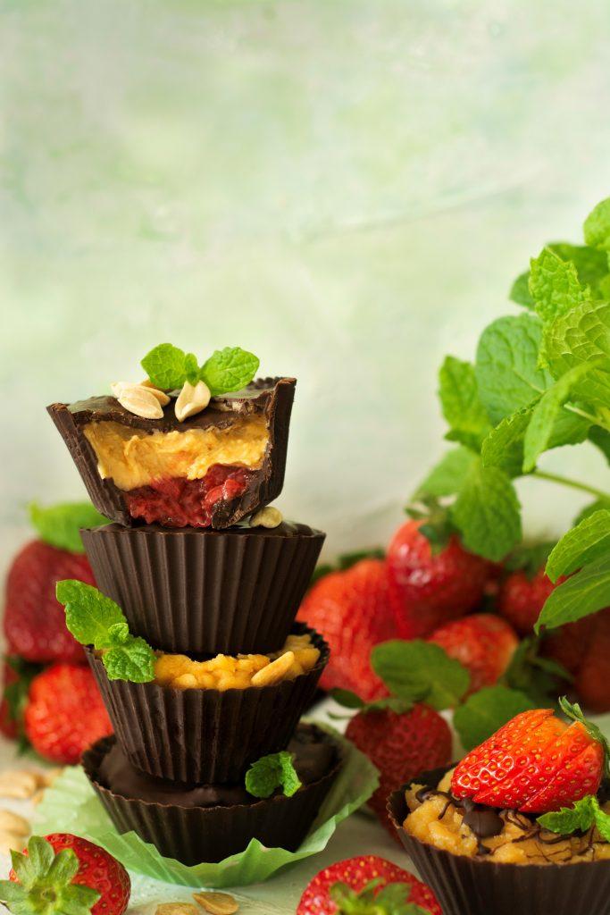 Jak zrobić kubeczki czekoladowe?