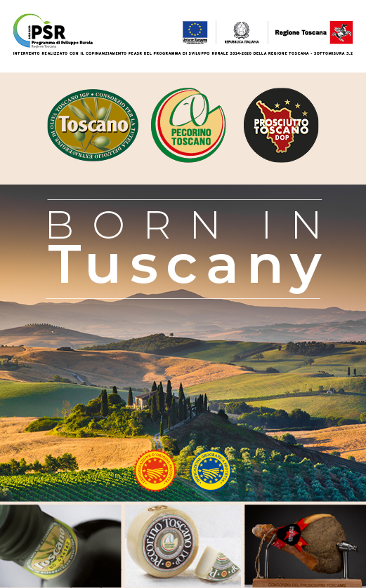 Born in Tuscany