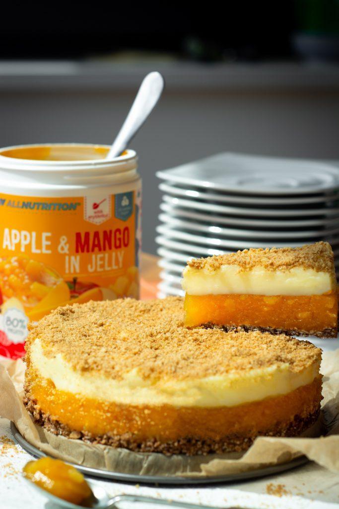 Ciasto z musem mango