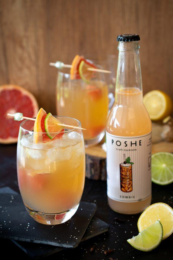 ZOMBIE - drink z grapefruitem