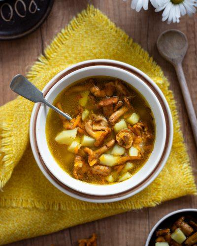 Zupa kurkowa bez śmietany