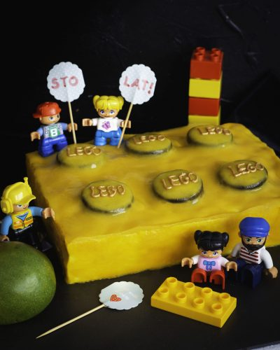 TORT LEGO – mango & oreo