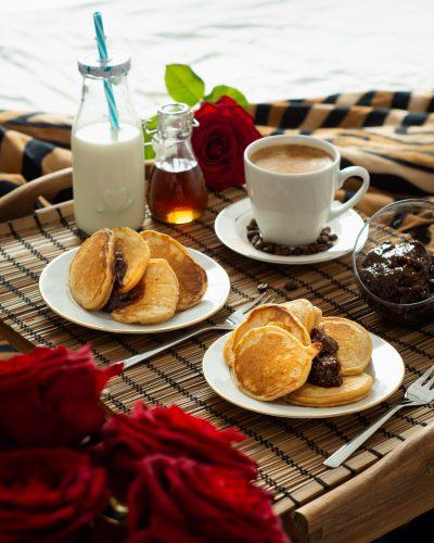 Placki kawowe