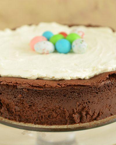 Ciasto truflowe z kremem cytrynowym