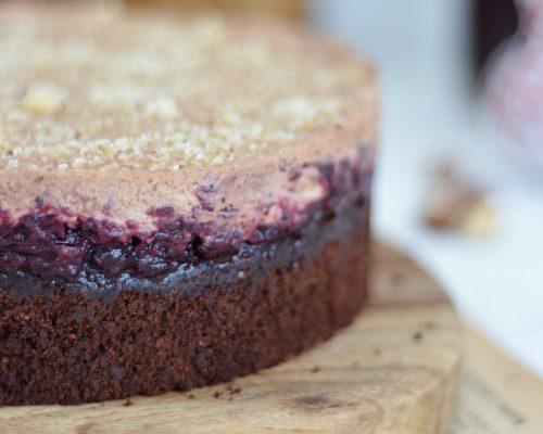 bezglutenowe ciasto czekoladowo orzechowe