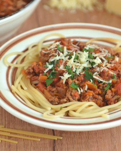 Prawdziwe spaghetti bolognese