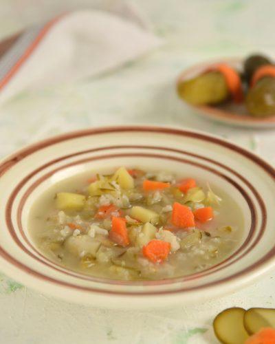 najlepsza zupa ogórkowa przepis