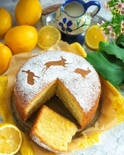 Angielskie ciasto cytrynowe Lemon Drizzle Cake