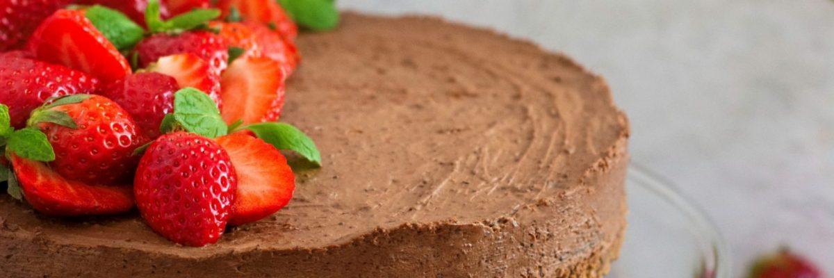 Sernik czekoladowy bez pieczenia
