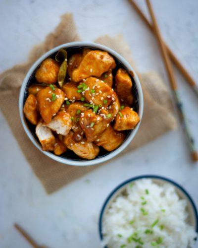 kurczak po tajsku sezamowy