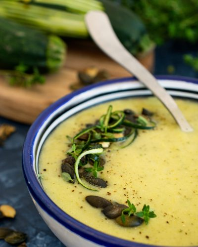 Zupa krem z cukinii - prosty przepis
