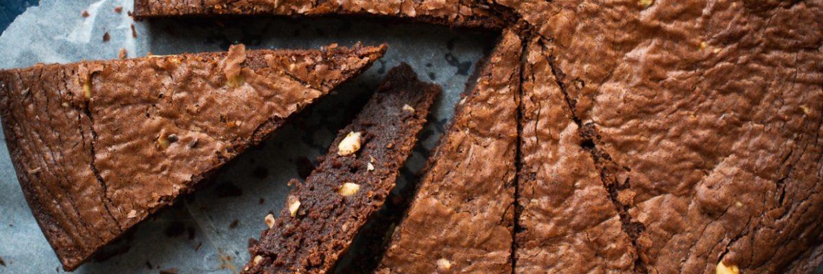 wilgotne brownie z orzechami!